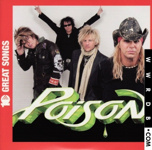 Poison 10 Great Songs Album primary image photo cover
